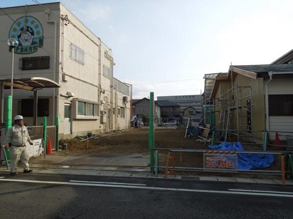 建物位置の確認